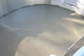 Smooth cement coating